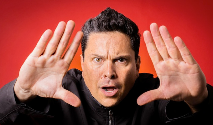 Dom Joly fumes over 'blatant TV theft' | Trigger Happy star's fury over Netflix documentary