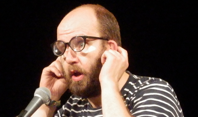 Daniel Kitson slammed for using racist slur | 'You're not entitled to that word,' says writer