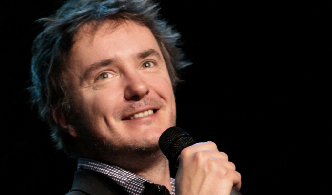 Dylan Moran: Off The Hook | Gig review by Steve Bennett at the Marlowe Theatre, Canterbury