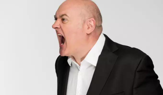 Dara O Briain: Voice of Reason | Gig review by Steve Bennett at the Eventim Apollo, Hammersmith