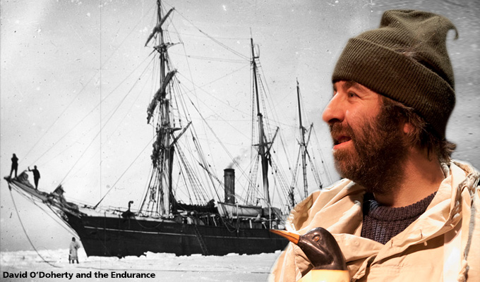 Sky pilots David O'Doherty's Antarctic comedy | Inspired by Ernest Shackleton