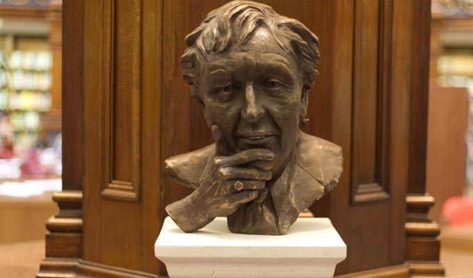New sculpture honours Ken Dodd | Bust shows comic's more thoughtful side