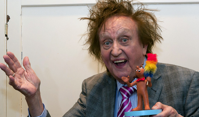 Ken Dodd's tickled by festival honour | Slapstick dubs him a 'comedy legend'