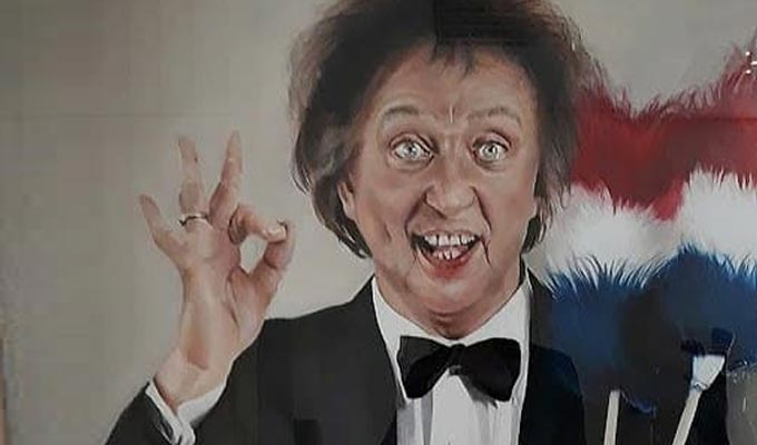 New portrait of Ken Dodd | To be unveiled at a Merseyside theatre next week
