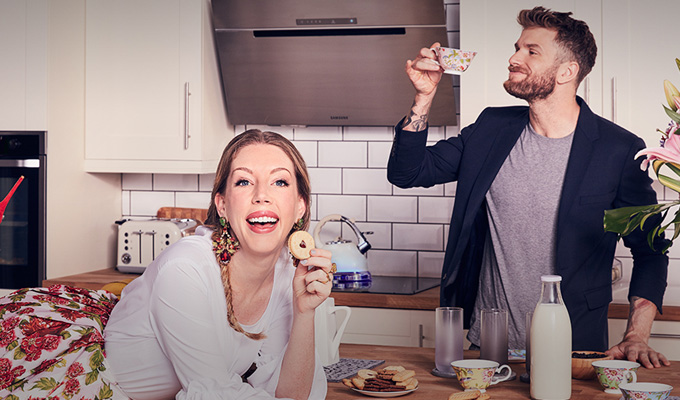 New comedy series with Katherine Ryan and Joel Dommett | ...to advertise Samsung products