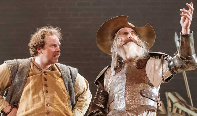 Win tickets to see the RSC's Don Quixote in the West End | Including an overnight stay