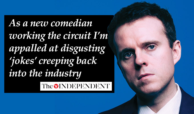 Hoax! Truth behind 'hate speech in comedy' article revealed | Comedian Andrew Doyle admits he wrote controversial piece