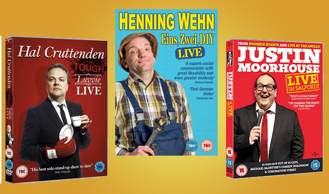 Win three of the best | Stand-up DVDs up for grabs