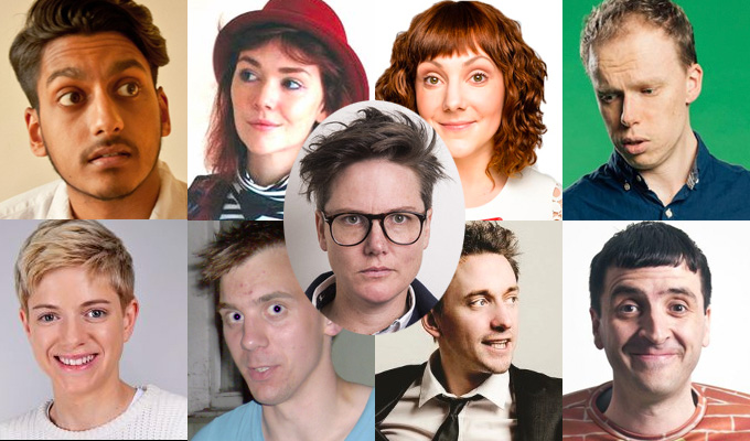 Record NINE nominees for Edinburgh comedy award | ...and eight newcomer nods