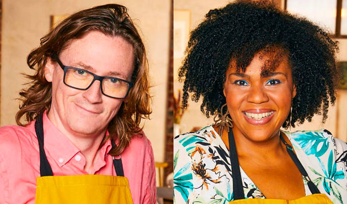 I might have barbecued a sausage for Dara O Briain... | Celebrity Best Home Cook contestants Ed Byrne and Desiree Burch on their culinary experiences