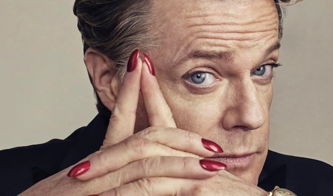 Eddie Izzard announces mini-book tour | Four dates to tie in with his memoirs