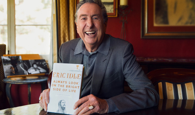Eric Idle to release his memoirs | A Sortabiography to be published this autumn
