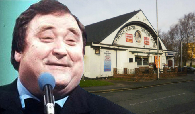 For sale: Bernard Manning's Embassy Club | But it could close as a venue