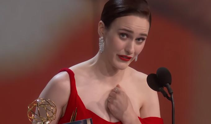 Five Emmys for Marvelous Mrs Maisel | John Oliver and Charlie Brooker also honoured