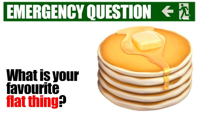 What is your favourite flat thing? | The last of Richard Herring's Emergency Questions