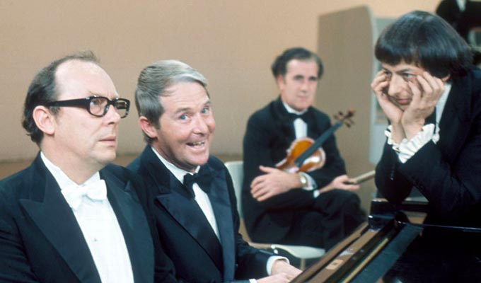 Morecambe & Wise & Andre Previn | 'All the right notes, but not necessarily in the right order'