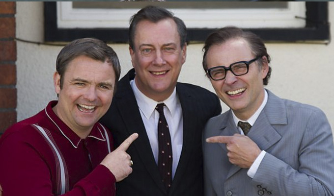 Revealed: The cast of Eric, Ernie & Me | Biopic of Morecambe and Wise writer Eddie Baben