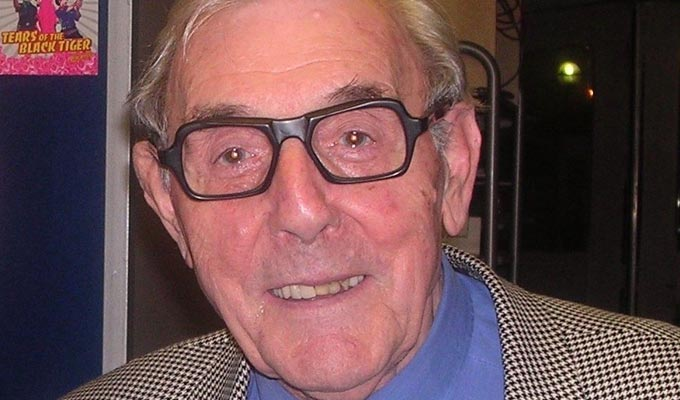 Just released: Eric Sykes' last stage appearance | As the Slapstick Festival starts opening up its archives