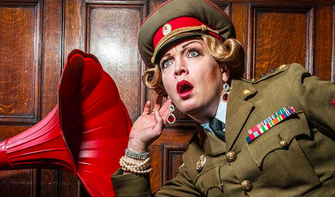 How Eva Von Schnippisch Single-Handedly Won WW2 | Brighton Fringe comedy review by Steve Bennett