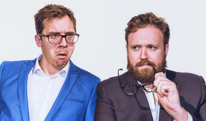 New podcast from John Kearns and Mat Ewins | Solving the world's mysteries