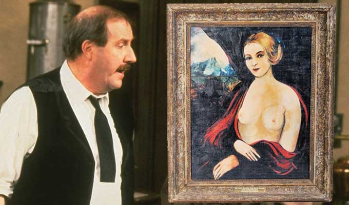 Madonna With The Big Boobies falls under the hammer | Allo Allo prop up for auction
