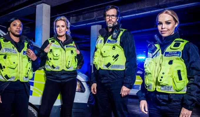Marcus Brigstocke joins the police | ...for a new Channel 4 reality series