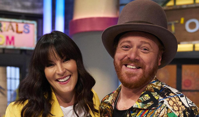 Keith Lemon's a crafty one... | Comic returns to Channel 4 to host a new crafts competition