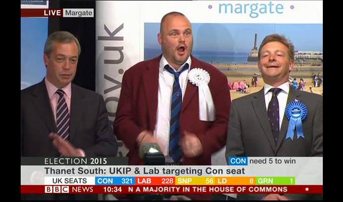 Voters tell Al Murray: You're barred | Just 318 votes in South Thanet