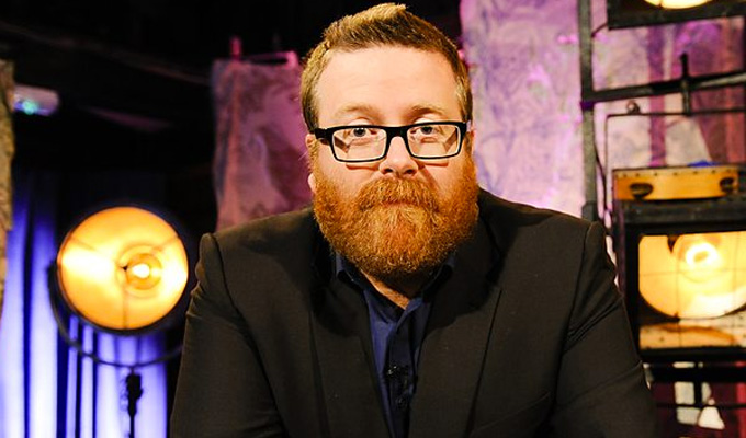Coming soon: Frankie Boyle's New World Order | Topical BBC Two show to  launch in Jine