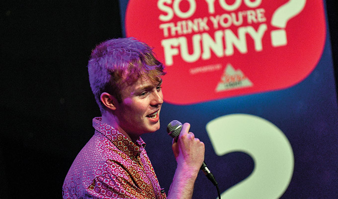Finlay Christie wins So You Think You're Funny? | Edinburgh new act hunt in its 32nd year