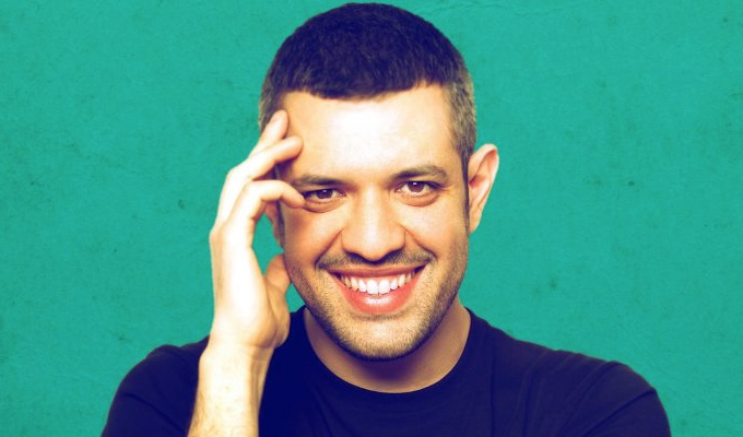 Learning the word 'Glaswegian' the hard way... | Italian comic Francesco De Carlo's Unforgettable Five gigs