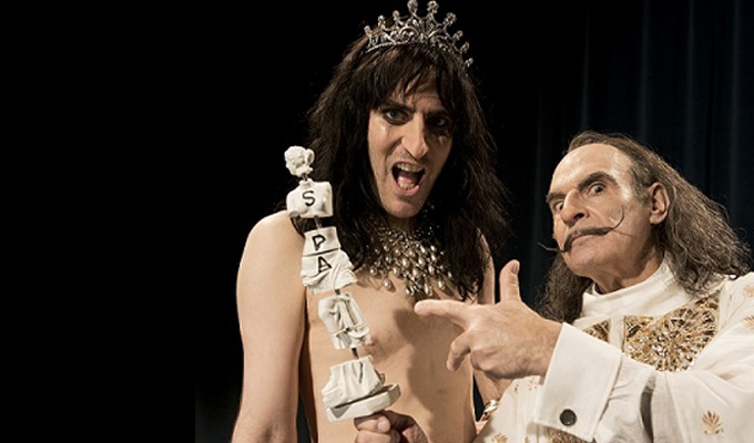 Noel Fielding to play Alice Cooper | ...on the day he met Salvador Dali