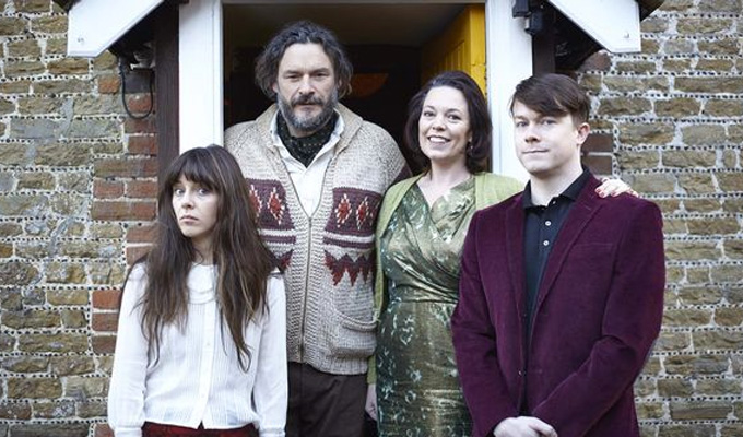 C4 picks Flowers | Julian Barratt and Olivia Colman to star in 'imaginative, cinematic comedy'