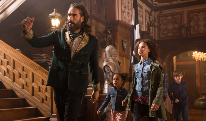 First look at Russell Brand in Four Kids And It | Trailer for new Sky movie