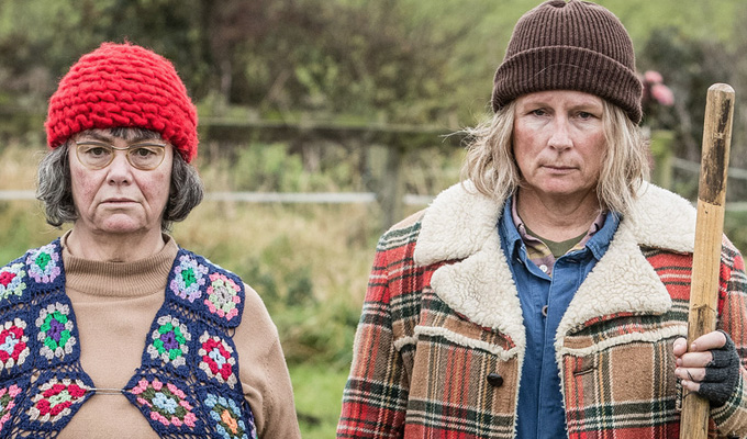 'We just like the sketches where we look pretty' | French and Saunders blatantly lie their way through a Q&A