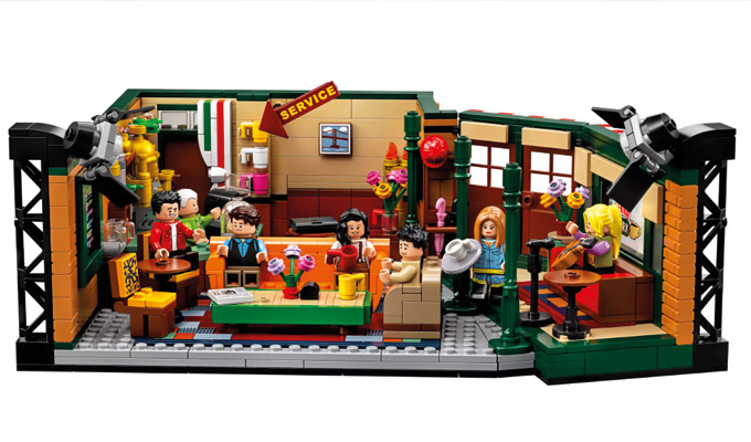 Build your own Lego Central Perk | New Friends set coming soon