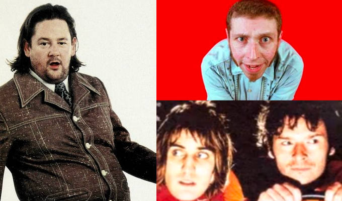 Welcome to the Edinburgh Fringe Time Machine... | How Chortle reviewed Dave Gorman, Johnny Vegas and the Boosh in 2000
