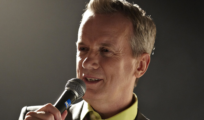 Frank Skinner works on new material | Series of intimate London dates announced