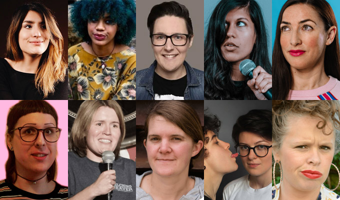 Funny Women announces its 2019 finalists | 433 entrants whittled down to the last ten