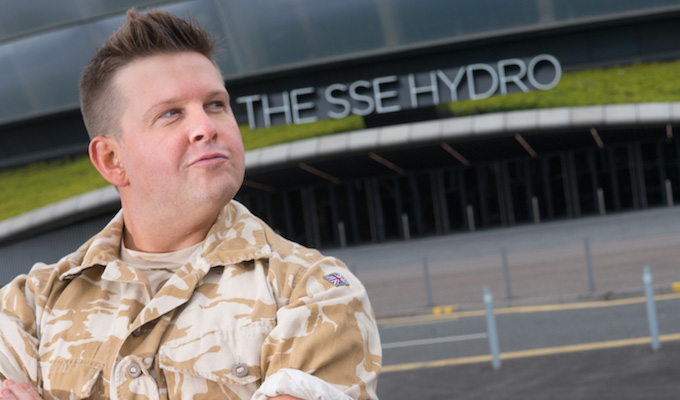 Gary: Tank Commander rolls into the Hydro | Three arena gigs for Greg McHugh's creation