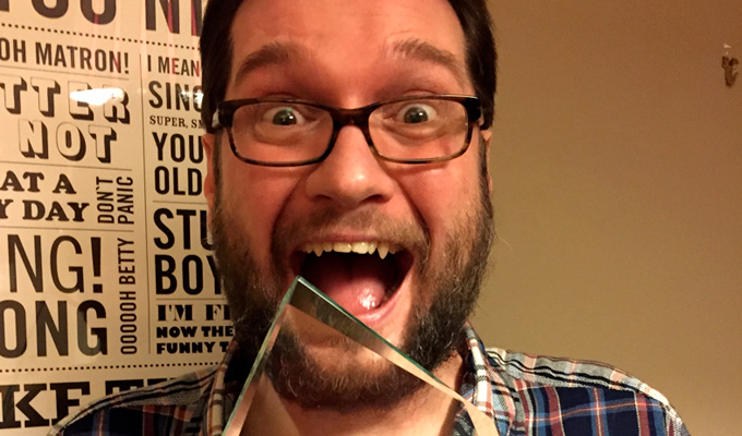Gary Delaney named UK's hardest-working comedian | Ahead of Patrick Monahan