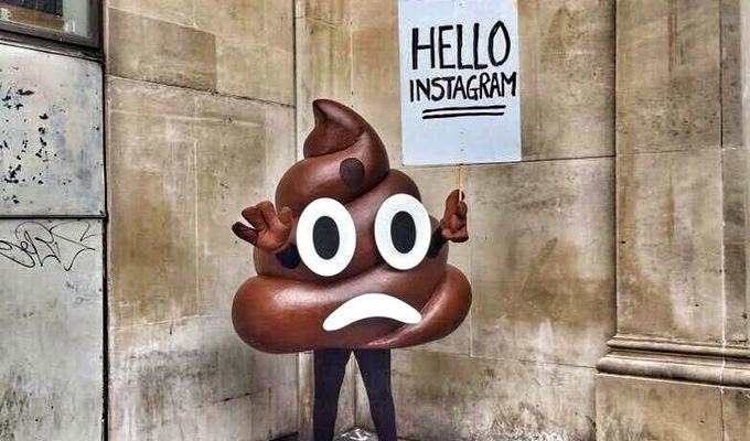 I bought some crap on eBay... | Dom Joly auctions off a giant turd costume