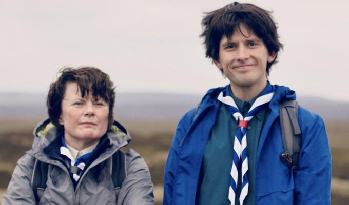Kieran Hodgson shoots a Channel 4 pilot | With W1A's Monica Dolan and Horrible Histories's Jim Howick