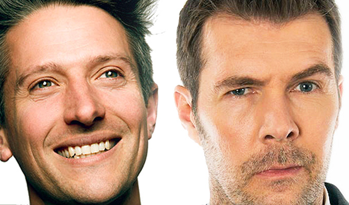 The TV stand-up show written by its viewers | Rhod Gilbert and Stuart Goldsmith pilot crowdsourced format