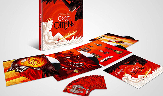 Original Good Omens radio adaptation released on LP : Other news 2019 :     Chortle : The UK Comedy Guide