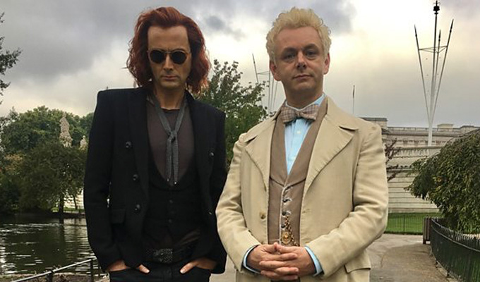 First look at Good Omens | With Michael Sheen and David Tennant