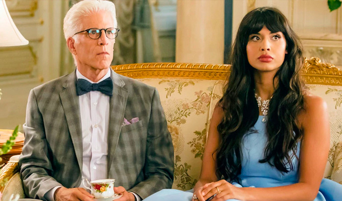 The Good Place has a gender pay gap | ...and Jameela Jamil is fine with that