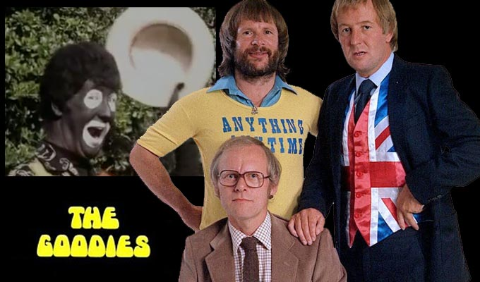 Were the Goodies offensive? | Some of the problematic scenes from Graeme Garden, Bill Oddie and Tim Brooke-Taylor