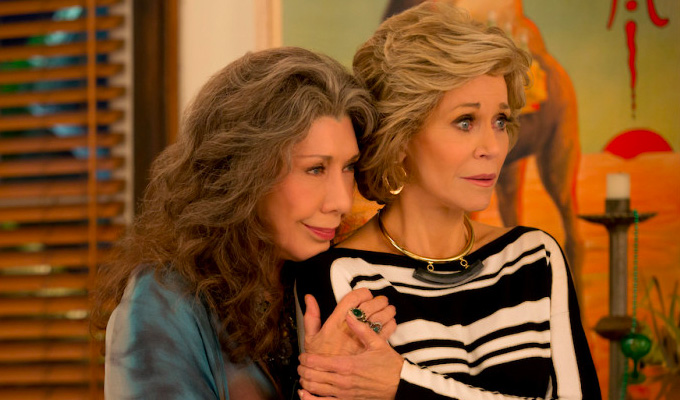 Grace and Frankie to bow out : News 2019 :     Chortle : The UK Comedy Guide