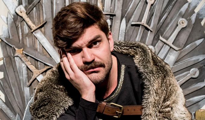 Winter is coming...  to London! | West End dates for Graeme of Thrones parody show